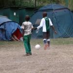 Boys playing football 2