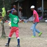 Boys playing football 4