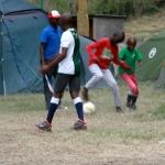 Boys playing football 5