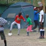 Boys playing football 6