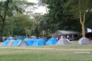 Bush camp in Naivasha